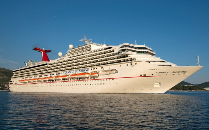 Bargain sail: Carnival Sunshine aims to tempt British guests with good-value holidays