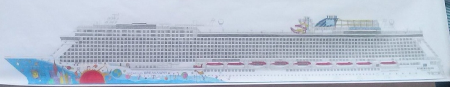 Aged Just The Mexican Boy Who Has Drawn Incredibly Detailed - Cruise ship drawings