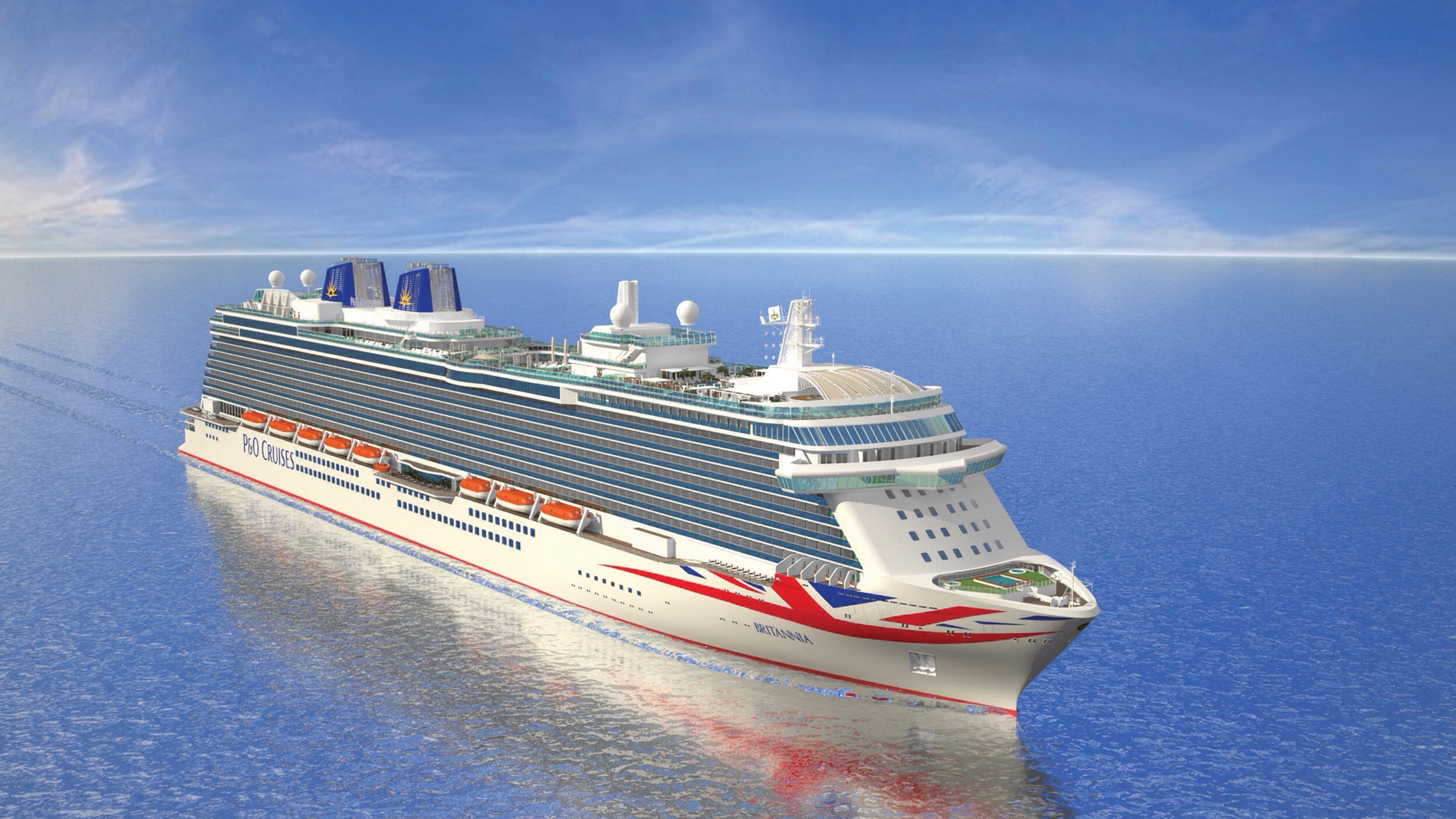 Rule Britannia: How P&O Cruises will rule the waves with ...