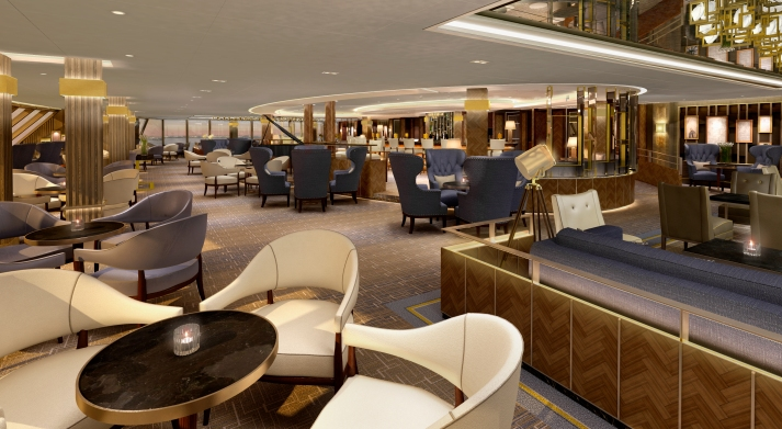 Raising the bar: The Crow's Nest (Picture: P&O Cruises)