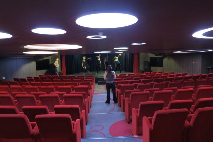 Setting the scene: The theatre