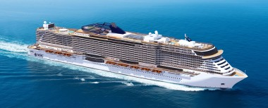 Project Seaside - one of the new ships that MSC hopes will attract British cruisers