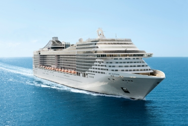 Simply Fantasia: The MSC ship Aimee went on (Picture: MSC Cruises)