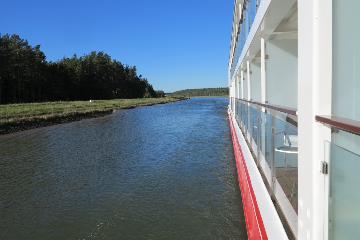Blue Danube: Sailing along the Main-Danube canal
