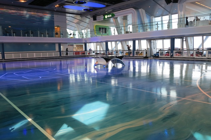 Bumper attractions: SeaPlex's dodgem cars rink can be used for other games, such as table tennis