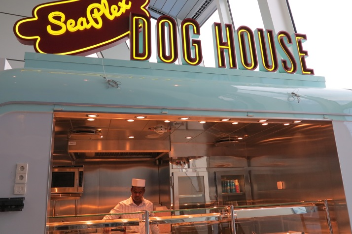 In the Dog House: The SeaPlex hot dog stand