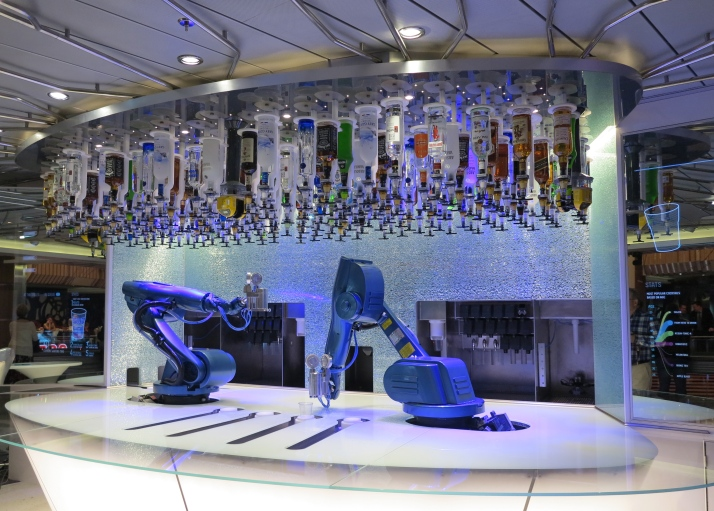 Movers and shakers: The robot bartenders in the Bionic Bar