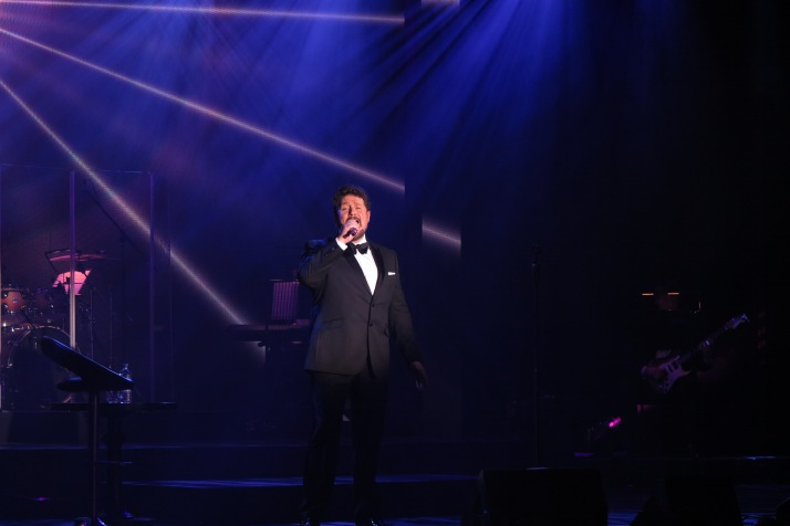 Entertaining: A special performance by Michael Ball