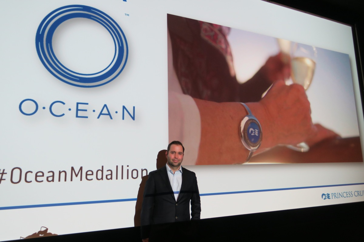 Ocean Medallion 'won't be Big Brother' says Princess Cruises boss