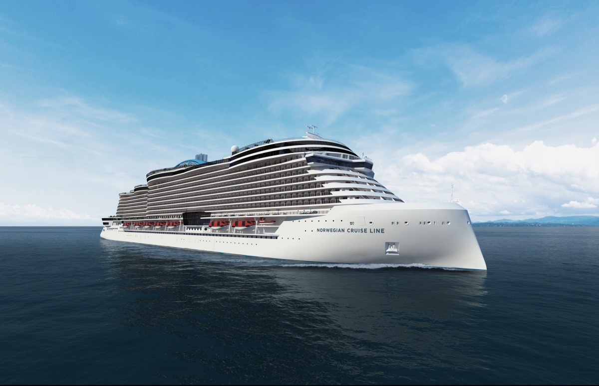 NCL orders four more ships - with option for two others