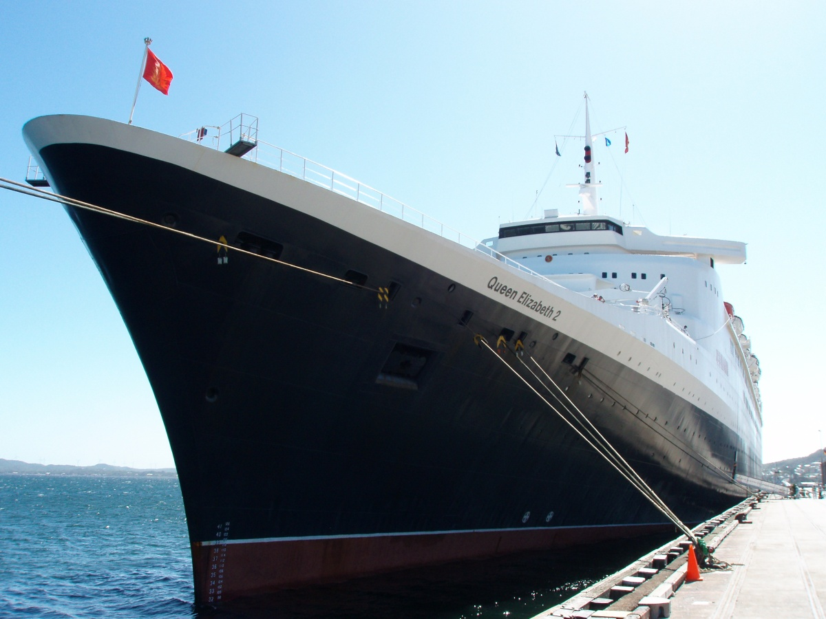 Cunard's Queen Elizabeth gets set for voyage to honour 50th anniversary of QE2