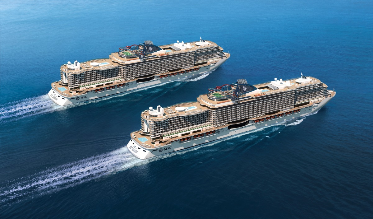 Why MSC means More Ships Coming! A look at the Italian cruise company's TEN vessels on order